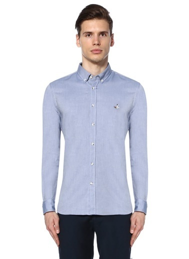 Beymen Club Slim Fit Gömlek Mavi